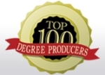 Diverse magazine's Top 100 Degree Producers logo