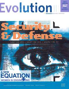 Evolution, the N.C. A&T research magazine, Fall 2011 edition