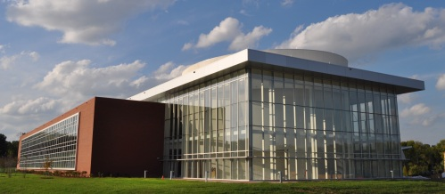 The Joint School of Nanoscience and Nanoengineering (JSNN) building at Gateway University Research Park