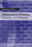 Cover of the International Journal of Information Privacy, Security and Integrity