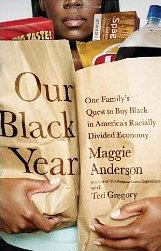 "Book cover: ""A Year of Buying Black"""
