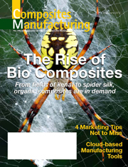 Cover of May-June 2012 issue of Composites Manufacuring magazine