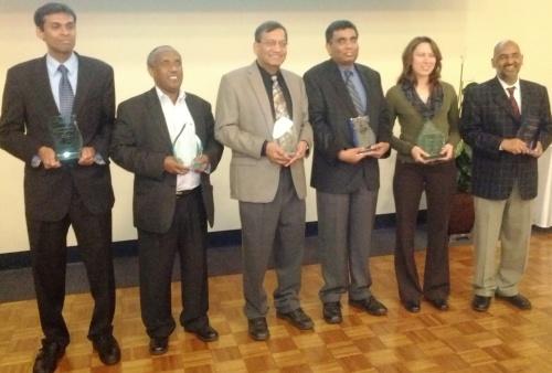 Drs. Aravamudhan, Bililign, Kelkar, Mohan, Fini and Kumar