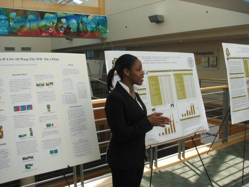 Undergraduate researcher Jasmine Brodie