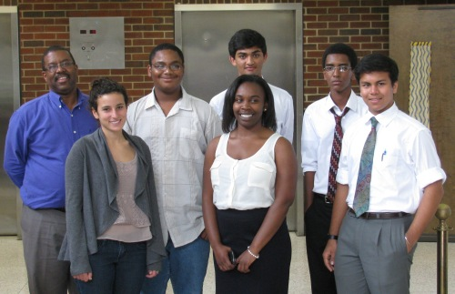 Members of the 2012 ERC Young Scholars program