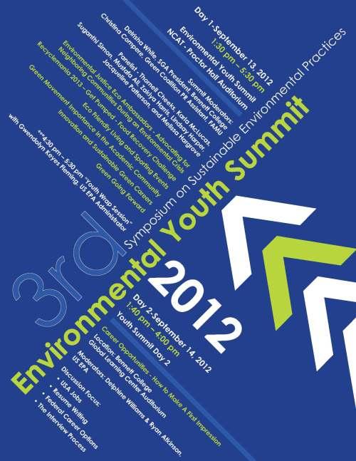 EPA Youth Summit poster