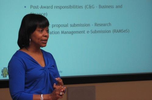 Saundra Yates Evans, Assistant Vice Chancellor