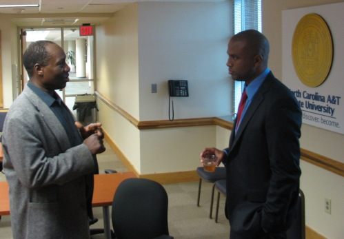 Dr. Fredrick Semazzi of N.C. State University and Dr. Brian Sims of the Department of Psychology