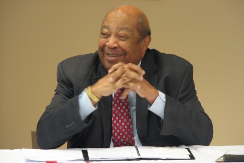 Dr. Quiester Carig, dean of the N.C. A&T School of Business and Economics