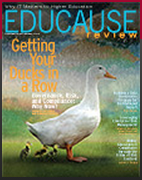 Cover of Educause Review, Nov/Dec 2013