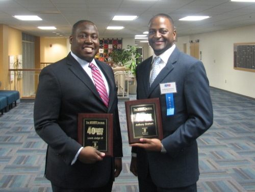 Mr. Judge and Dr. Graham, two outstanding young professionals