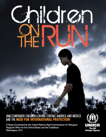 Cover of UN reort on unaccompanied child refugees