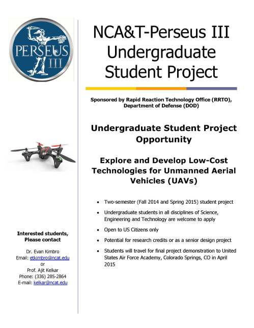 Flyer for Perseu III program