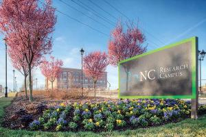 Building at N.C. Research Campus in Kannapolis